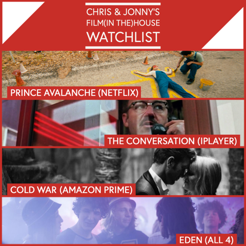 Chris & Jonny's Watchlist – 15.5.20