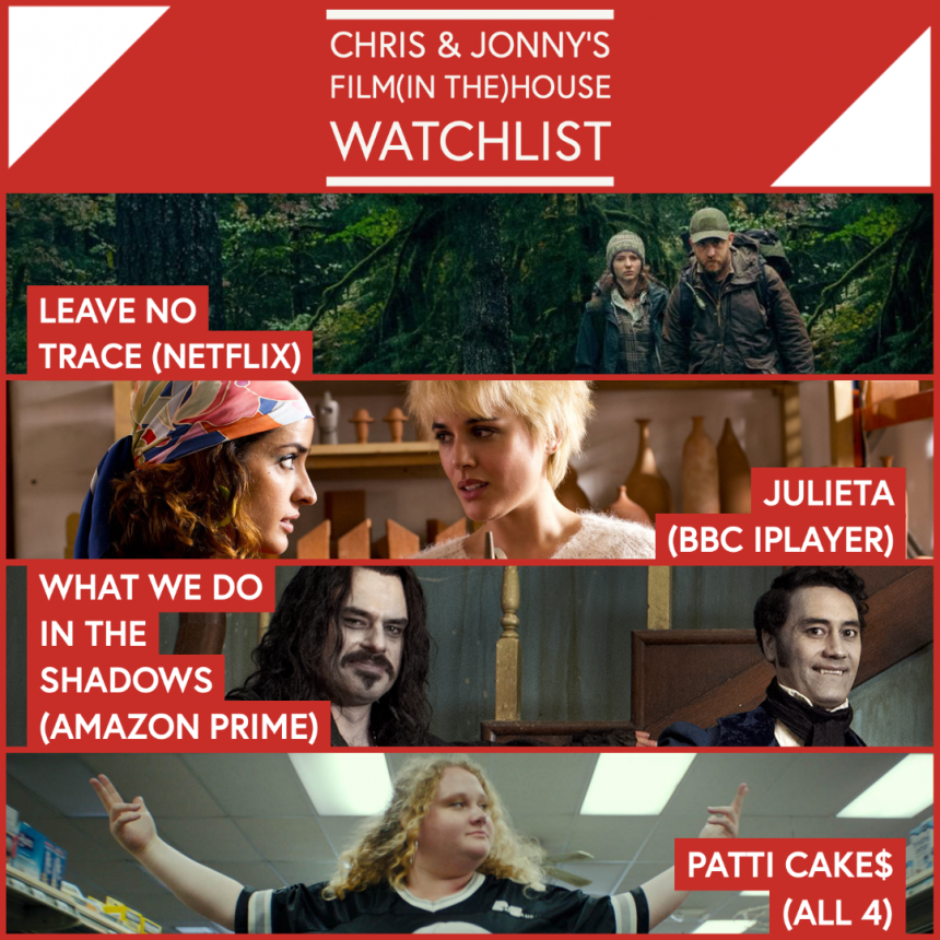 Chris & Jonny's Filmhouse Watch List 19/06/20