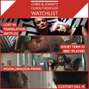 Chris & Jonny's Filmhouse Watch List 24/07/2020
