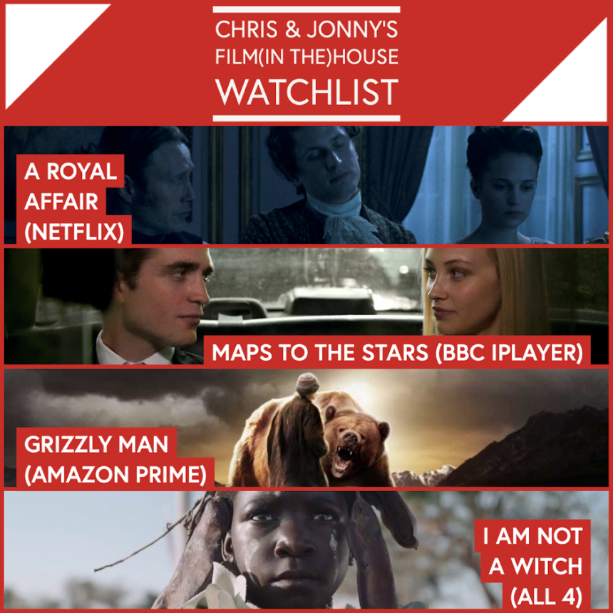 Chris & Jonny's Filmhouse Watch List 07/08/2020