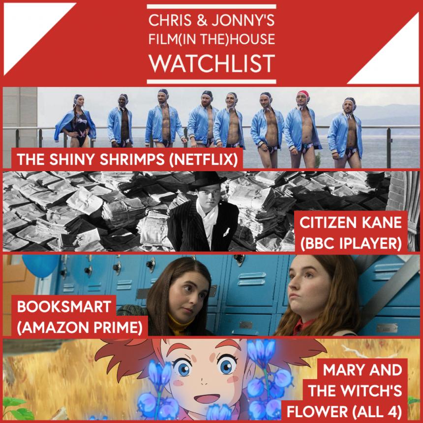 Chris & Jonny's Filmhouse Watch List 11/09/2020