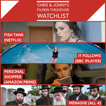 Chris & Jonny's Filmhouse Watch List 04/09/2020