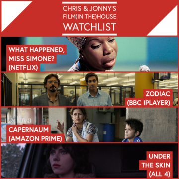Chris & Jonny's Filmhouse Watch List 18/09/2020