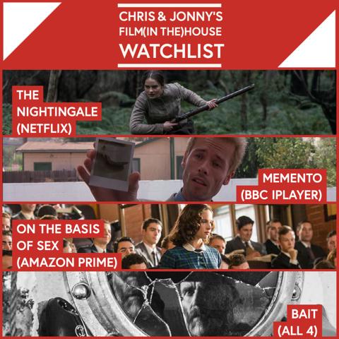 Chris & Jonny's Filmhouse Watch List 25/09/2020