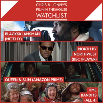 Chris & Jonny's Filmhouse Watch List 02/10/2020