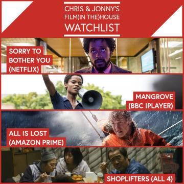 Chris & Jonny's Filmhouse Watch List 20/11/2020