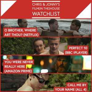 Chris & Jonny's Filmhouse Watch List 27/11/2020