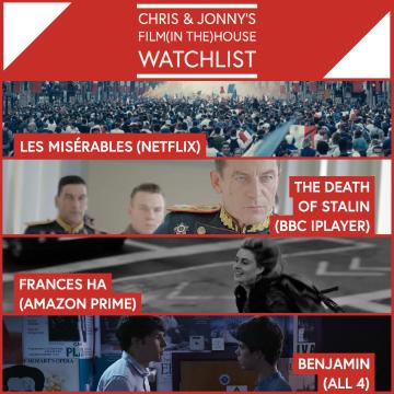 Chris & Jonny's Filmhouse Watch List – 22.01.21