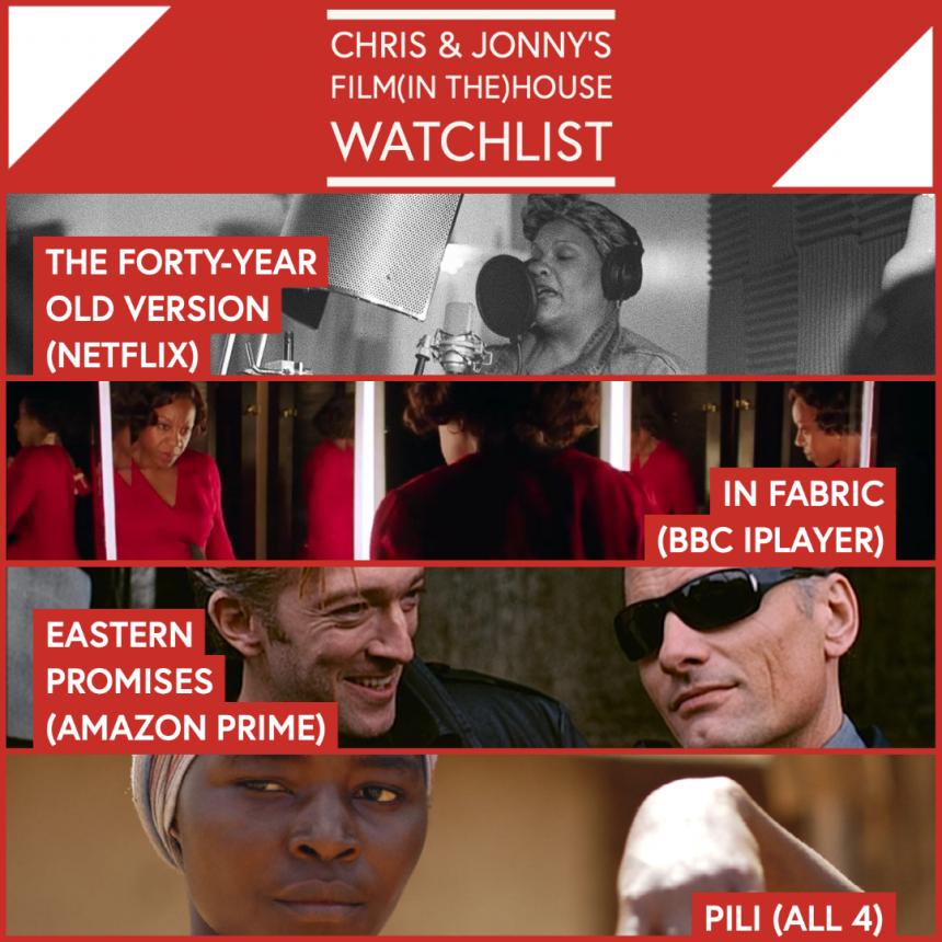 Chris & Jonny's Filmhouse Watch List – 12.02.21
