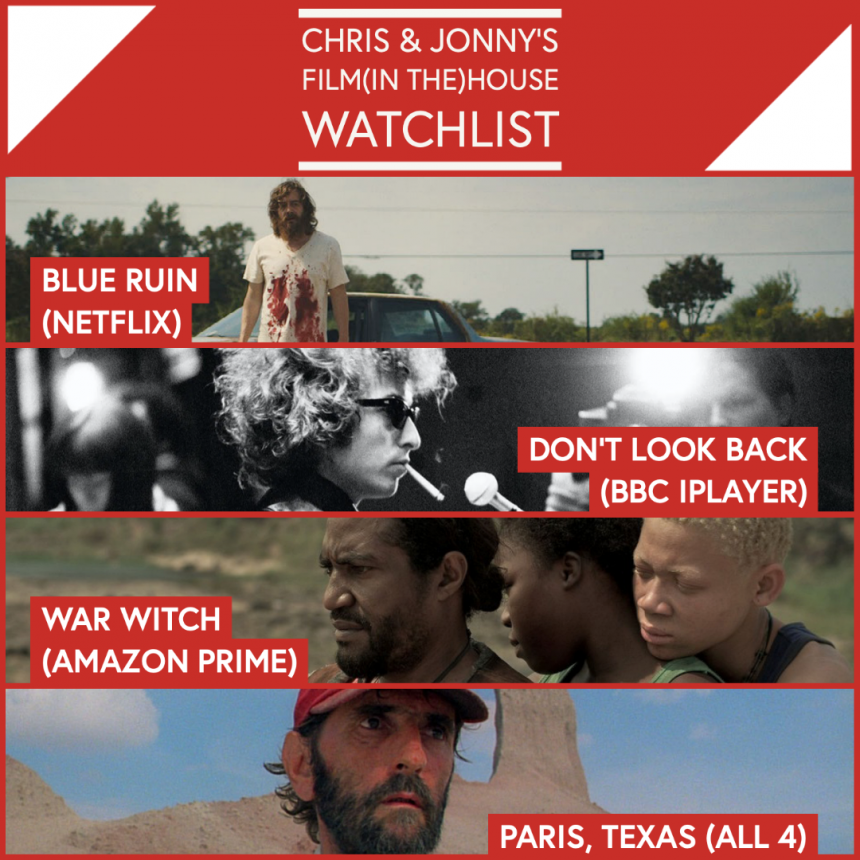 Chris & Jonny's Filmhouse Watch List – 11.06.21